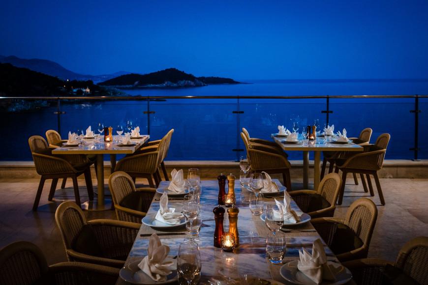 Ужин в отеле RIXOS PremiumDubrovnik