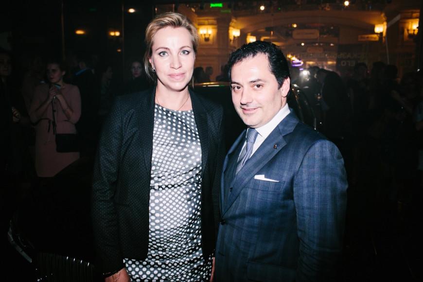 Елена Смирнова (BMW) & Тимур Гугуберидзе (GUM)