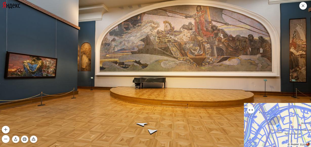 Третьяковская галерея. Зал М. Врубеля