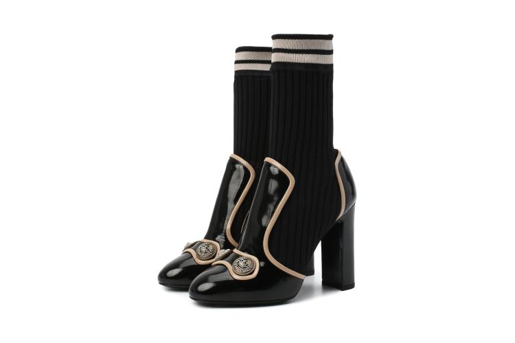 Ботильоны Dolce & Gabbana, 87 000 руб. (Третьяковский проезд)