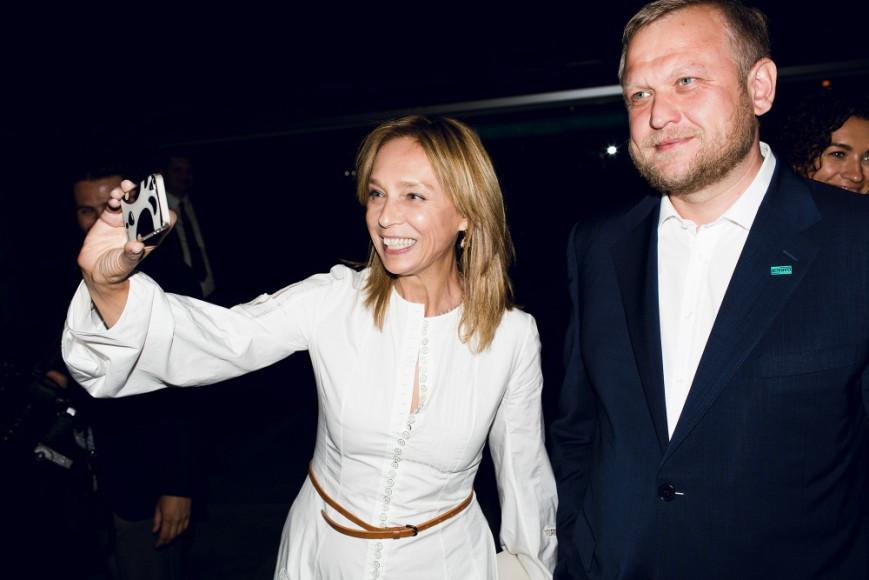 Алена Долецкая (Interview) и бизнесмен Сергей Капков