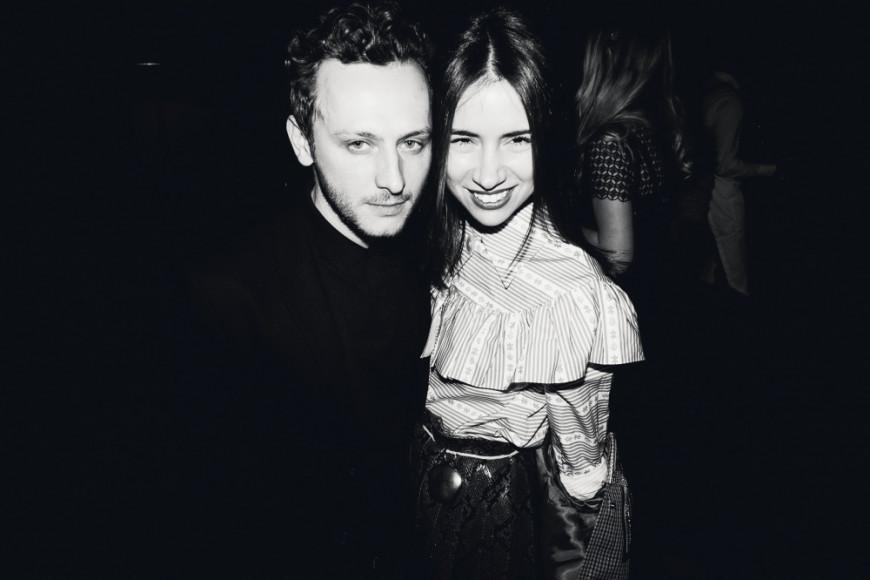 Андрей Артемов (Walk Of Shame) и Наталья Гольденберг (ЦУМ)