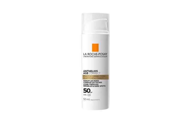 Cолнцезащитный крем для лица Anthelios Age Correct SPF 50+, La Roche-Posay