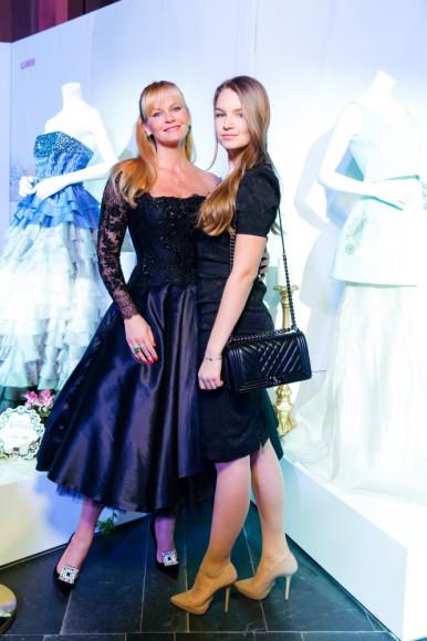 Екатерина Лиепа с дочерью (Prime Academy)