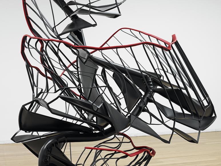 Моника Сосновская, «Лестница», 2010. Инсталляции в Музее современного искусства, Порту