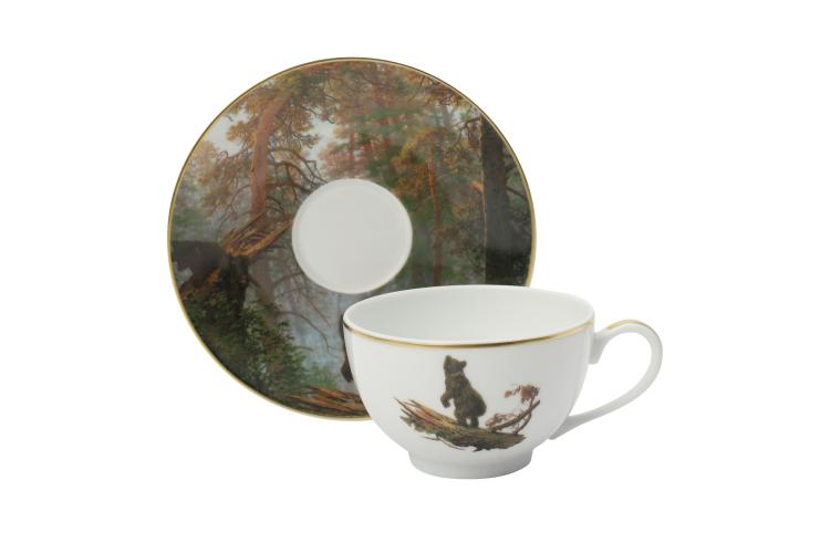Чайная пара«Утро в сосновом лесу»,Bernardaud