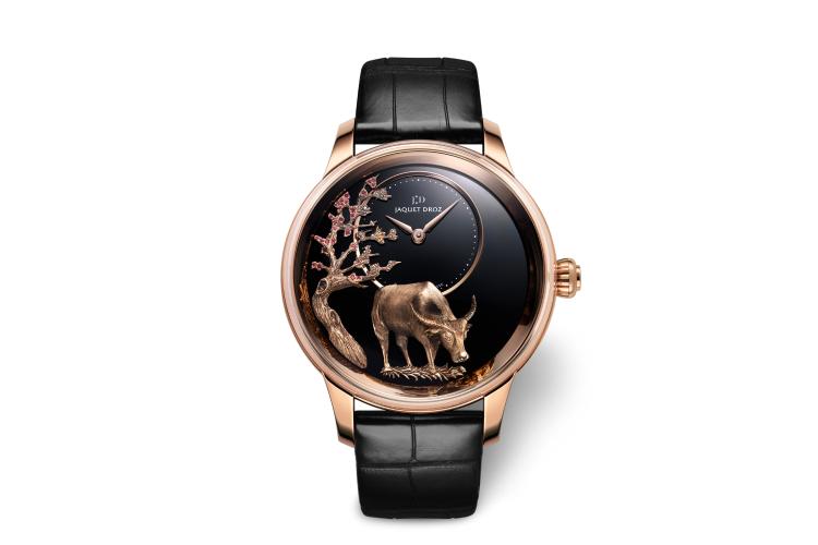 Часы Petite Heure Minute Buffalo, Jaquet Droz