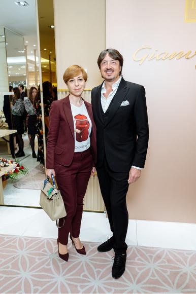 Джанвито Росси и Марианна Максимовская