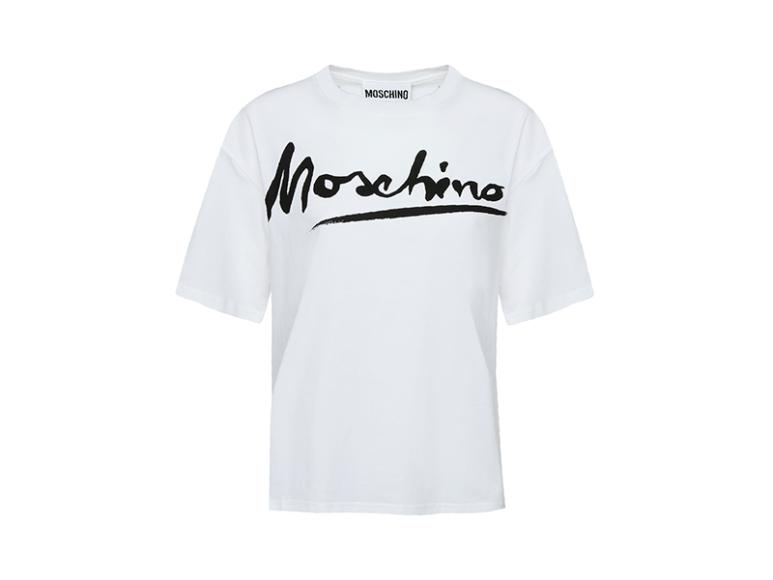 Женская футболка Moschino, 12050 руб. с учетом скидки (ТЦ «Весна»)