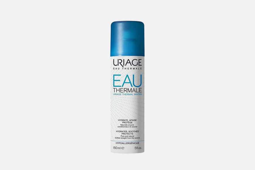 Термальная вода для чувствительной кожи Uriage содержит оптимальную комбинацию минеральных солей, которая восстанавливает гидролипидную пленку, регулирует коллагеновый баланс, создает защитный барьер