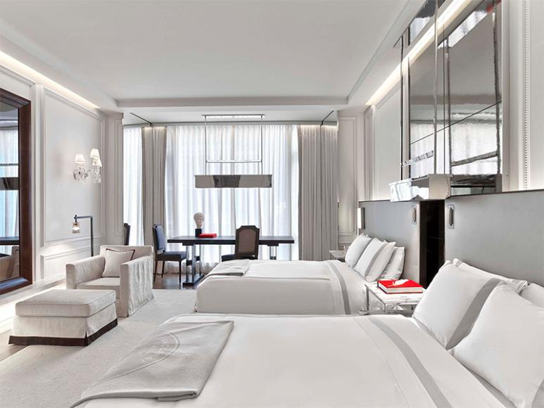 Интерьерыномеров Baccarat Hotel & Residences