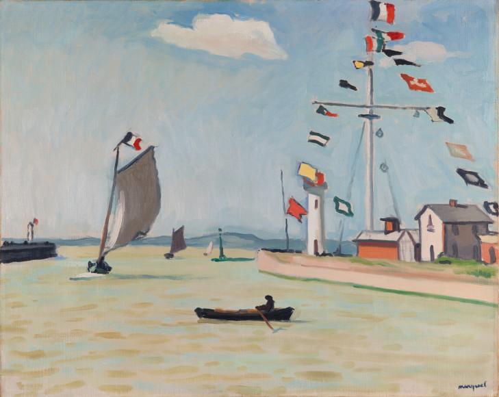 Альбер Марке, Порт в Онфлере, 1911