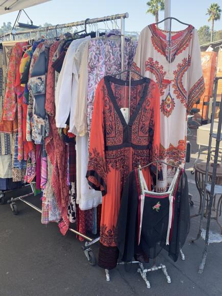 Rosebowl Flea Market в Лос-Анджелесе
