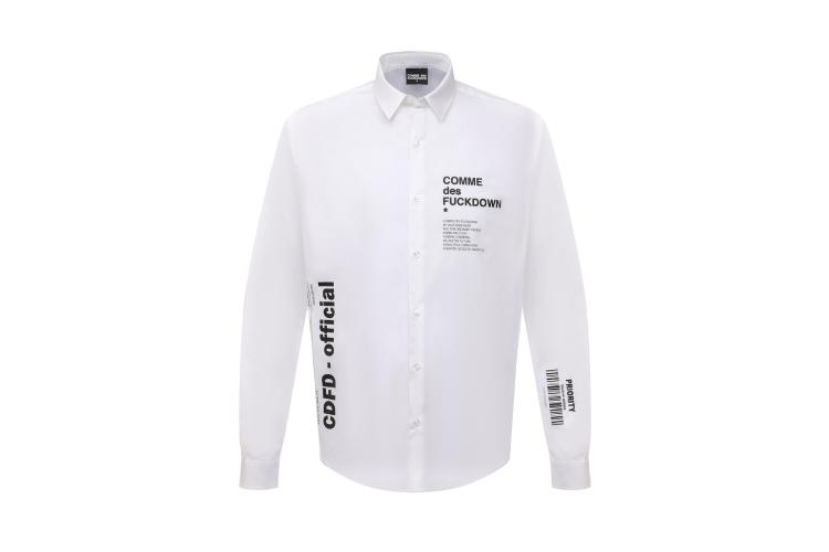 Рубашка Comme des Fuckdown, цена по запросу (ЦУМ)
