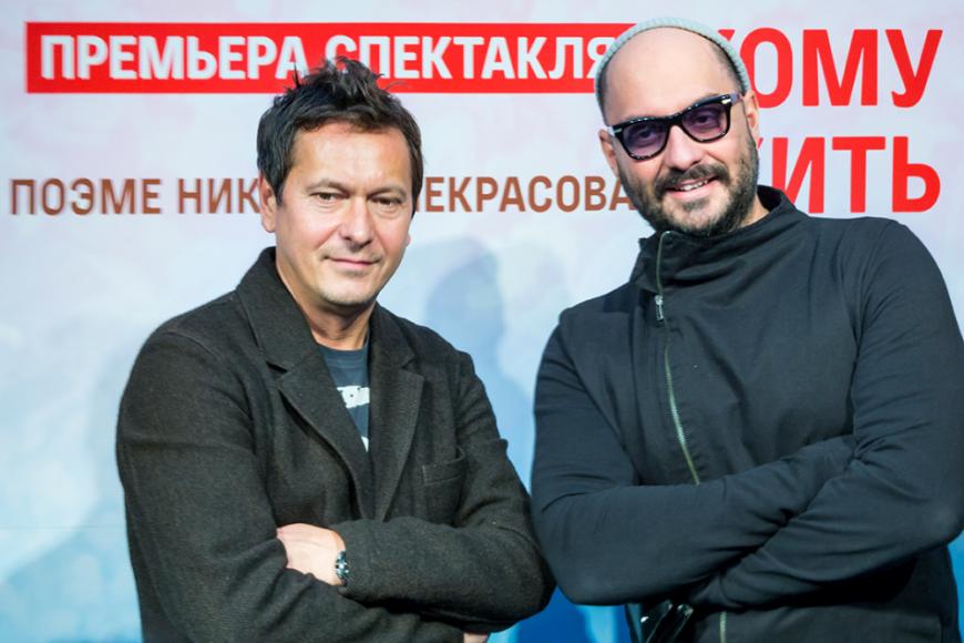 Кирилл Серебренников (справа)