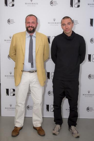 Риккардо Мурелли (художник)  и Михаил Розанов (фотограф)