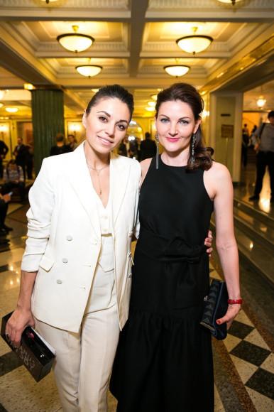 Яна Валенсия и Анна Пискарева