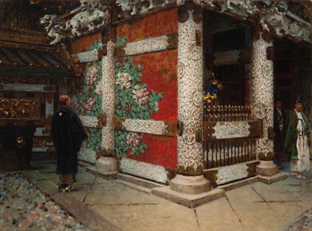 «Шинтоисский храм в Никко». 1903