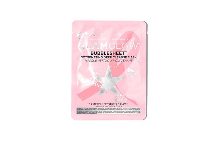 Маска Oxygenating Deep Cleansing Mask, Bubblesheet, лимитированный выпуск, Glamglow