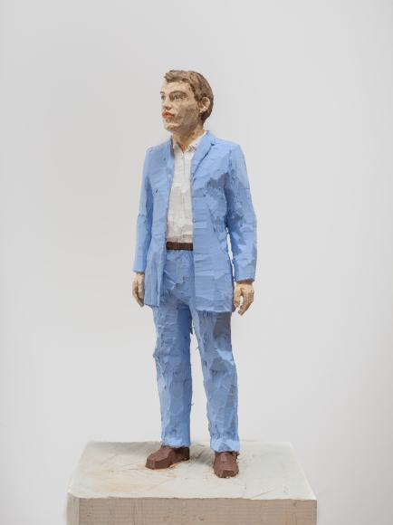 СтефанБалкенол,«Мужчина в светло-голубом», 2019