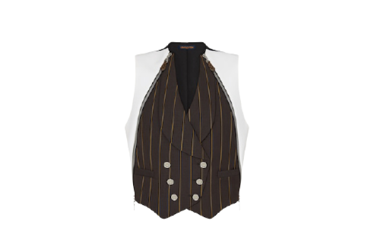 Женский жилет Louis Vuitton, 195 000 руб. (Louis Vuitton)