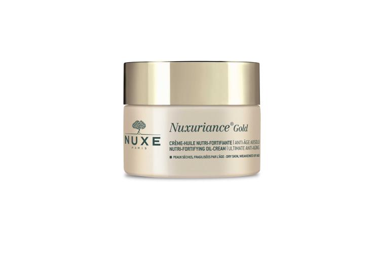 Питательный восстанавливающий антивозрастной крем для лица Nuxuriance Gold, Nuxe