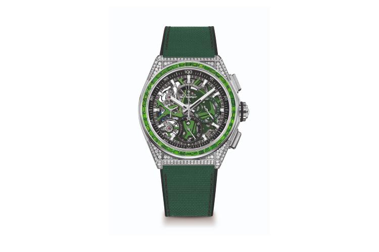 Часы Defy Spectrum Green, Zenith