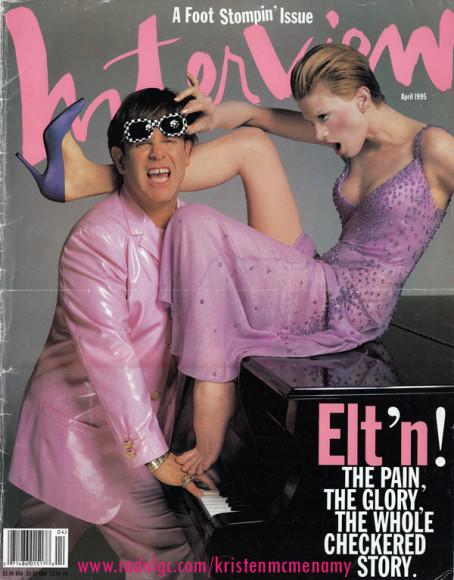Элтон Джон и Кристен Макменами, обложка 1995 года