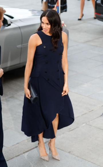 Меган Маркл в платье Antonio Berardi