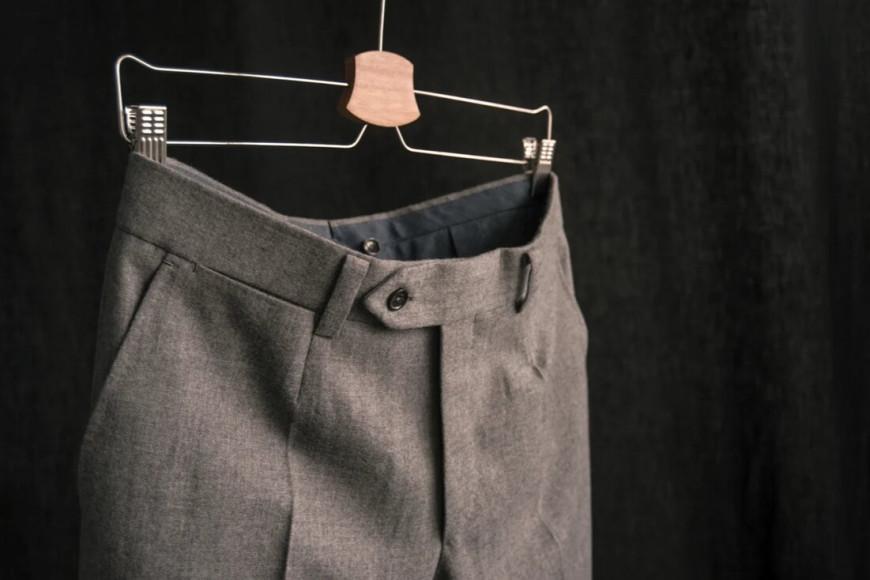 Брюки из фланели Classic Worsted Flannel