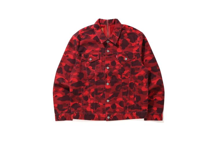 Куртка Levi's X Bape, 20 000 руб. (Levi's)