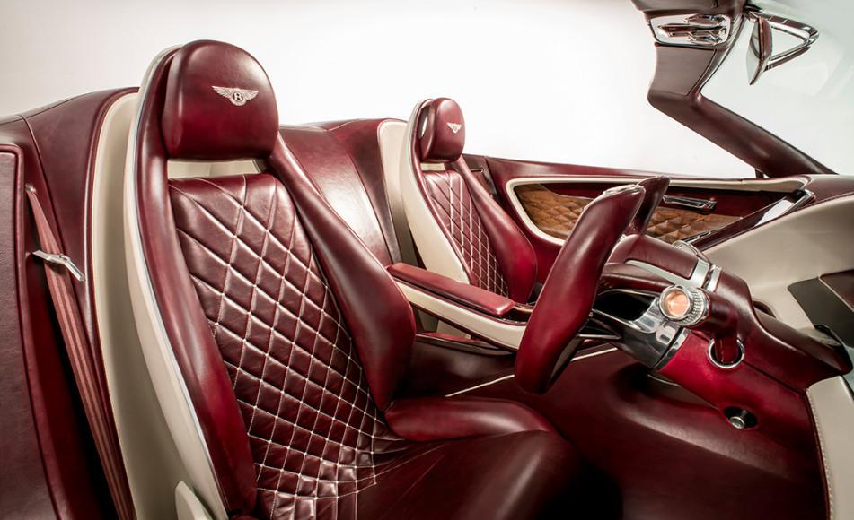 Электрический концепт-кар Bentley EXP 12 Speed 6e