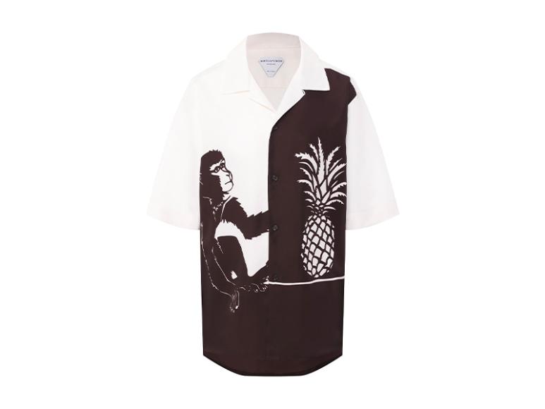 Женская рубашка Bottega Veneta, 86 600 руб. (tsum.ru)