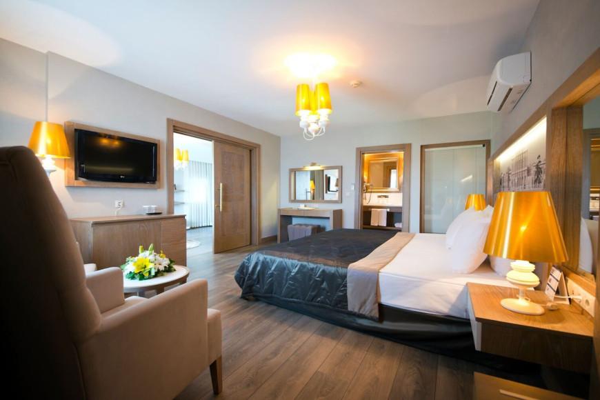 Президентский люкс в отеле Limak Arcadia Sport Resort Hotel (Limak Arcadia)
