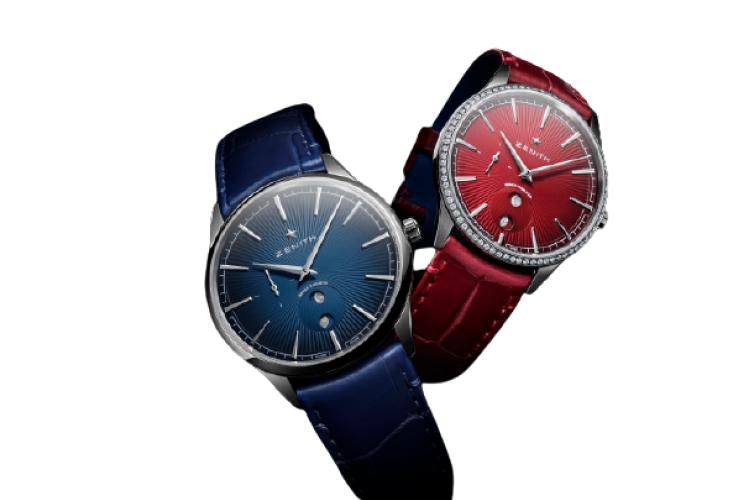 Часы Elite Romeo & Juliet Habanos, Zenith, 716 000 руб. и 900 000 руб. (ЦУМ)