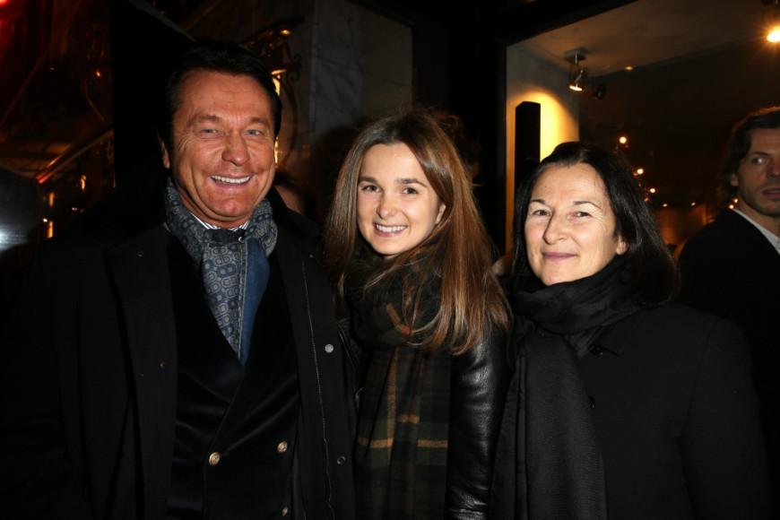 Waldemar Kita, президент футбольного клуба Nantes, с семьей