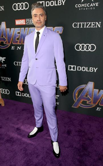 На премьере фильма «Мстители: финал» в Лос-Анджелесе