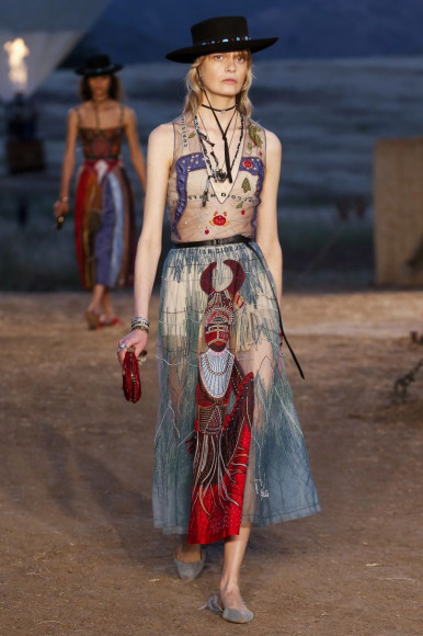 Круизная коллекция Motherpeace Tarot, Dior 2018