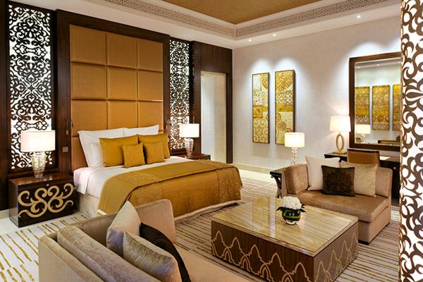 Спальня в сьюте Grand в отеле One&Only The Palm (Дубай)