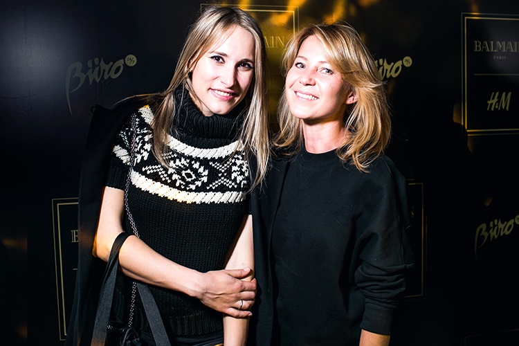 Мария Кравцова и Катя Комолова