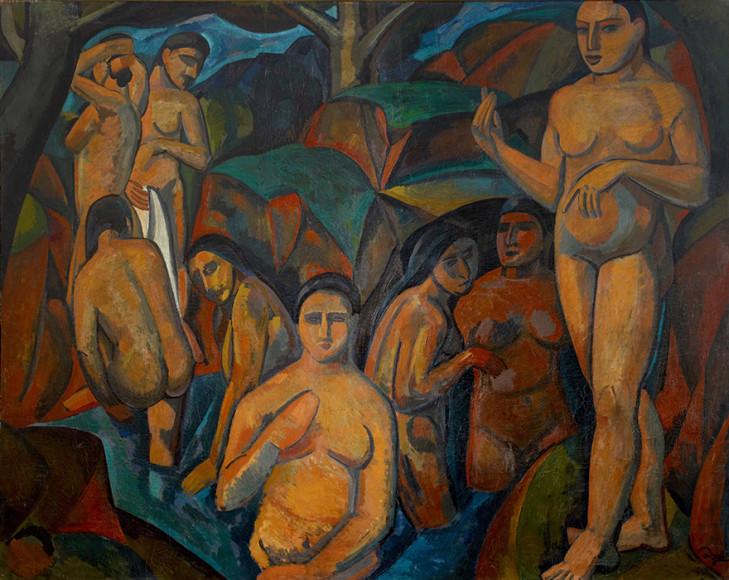 Андре Дерен. «Большие купальщицы», 1908