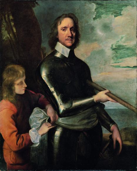 Роберт Уокер. «Оливер Кромвель». Около 1649 г.