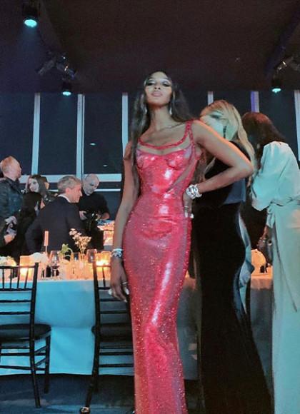 В платье Versace на гала-вечере LACMA Art + Film, 2019 год