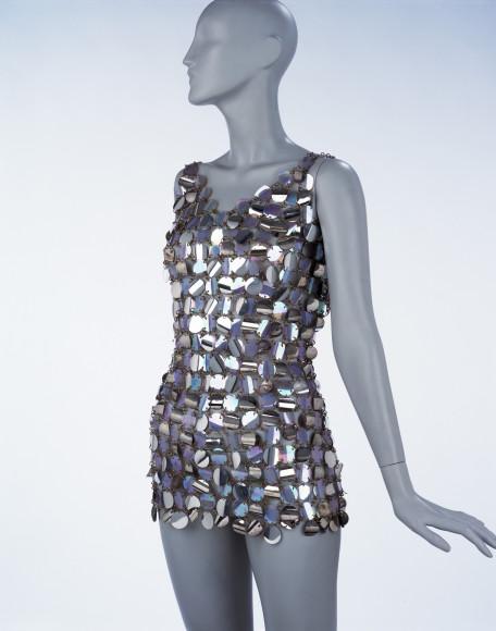 Вечернее платье Paco Rabanne, 1967