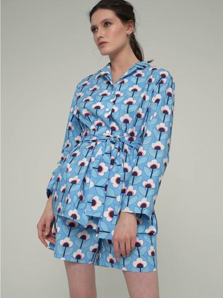 Хлопковая пижама To Be Woman, 6900 руб.