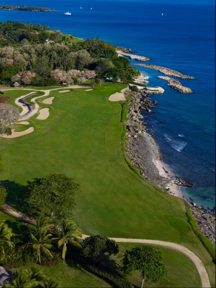 Поле для гольфа, отель Каса-де-Кампо