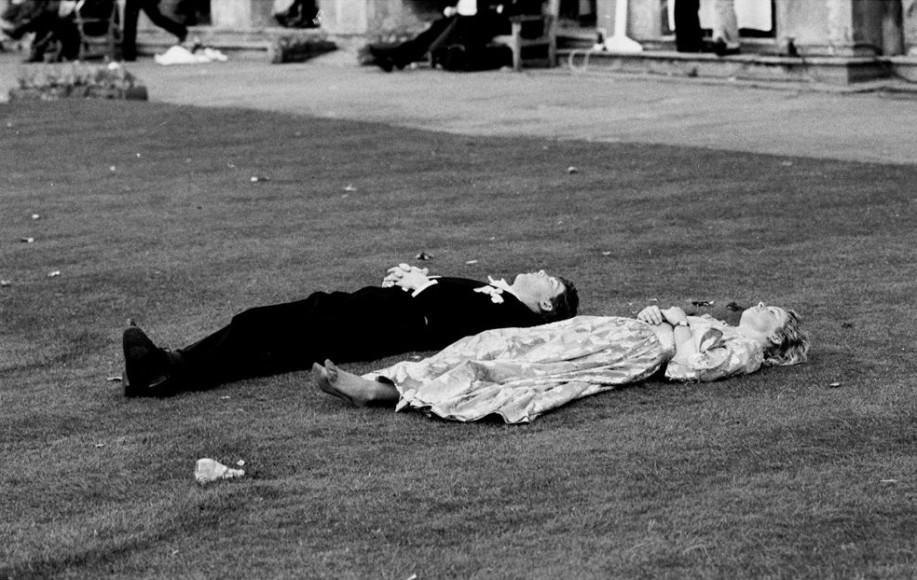 Выставка «Here We Are» Dafydd Jones. Magdalen Commemoration Ball, Oxford, 1988
