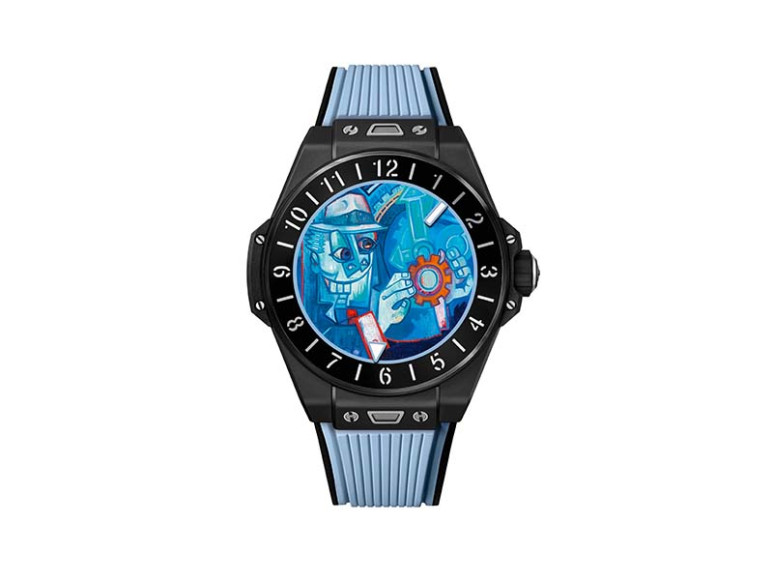 Часы Big Bang e с циферблатом Hublot Loves Art Dials по дизайну Марка Ферреро