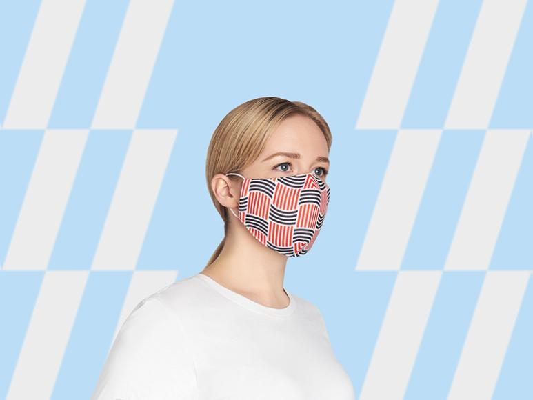 Коллекция многоразовых масок для лица Heart of Moscow