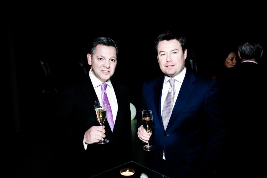 Эдвард Джонсон (Moet Hennessy Russia) и Корриган Джеймс (Sberbank Merchant Banking